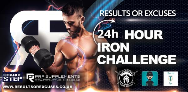 24hr Iron Challenge Sponsored By PRP