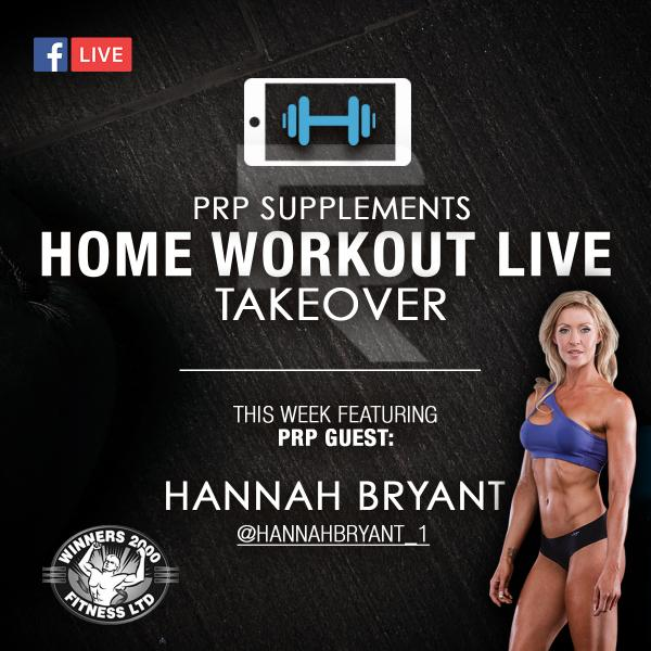 Home Workout Take Over - Fitness Pro Hannah Bryant Takes Full Body Workout