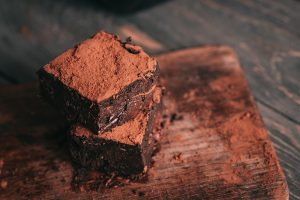 Gooey Vegan Chocolate Brownies - Shelley Roe Take-Over