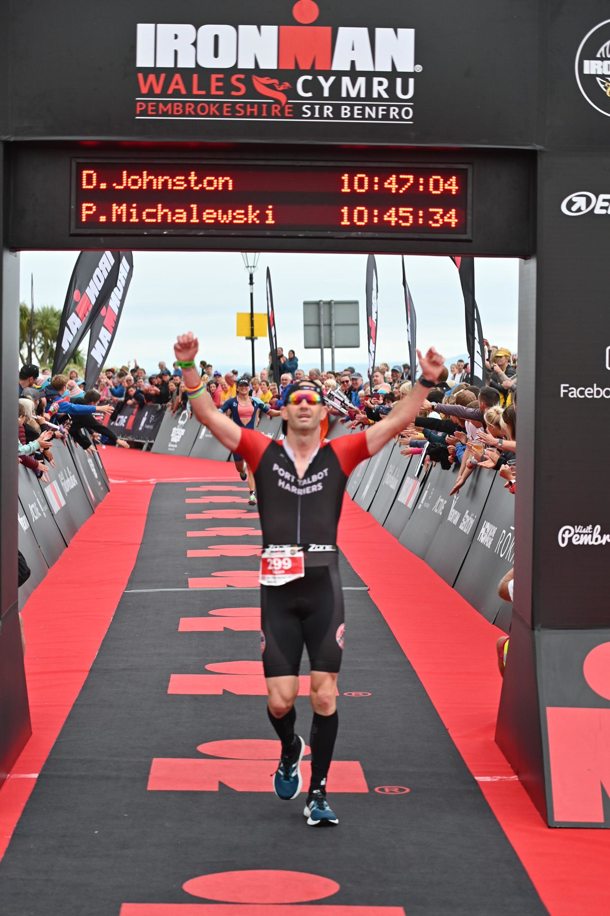 Dean Johnston Ironman Wales