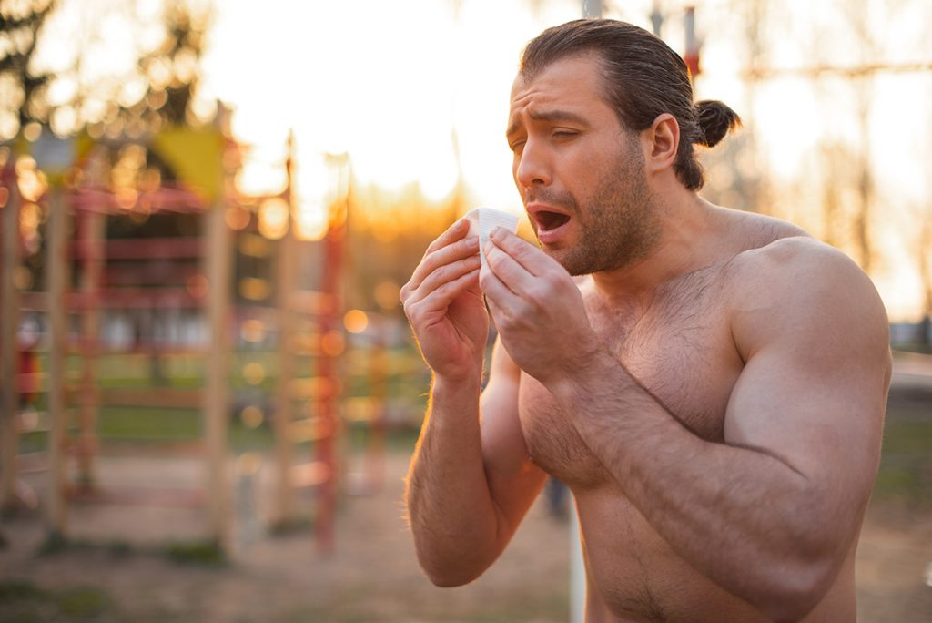 gym and immunity