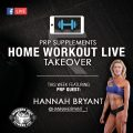 Hannah bryant home workout