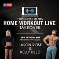 home workout live - Jason Ros & Kelly Reed