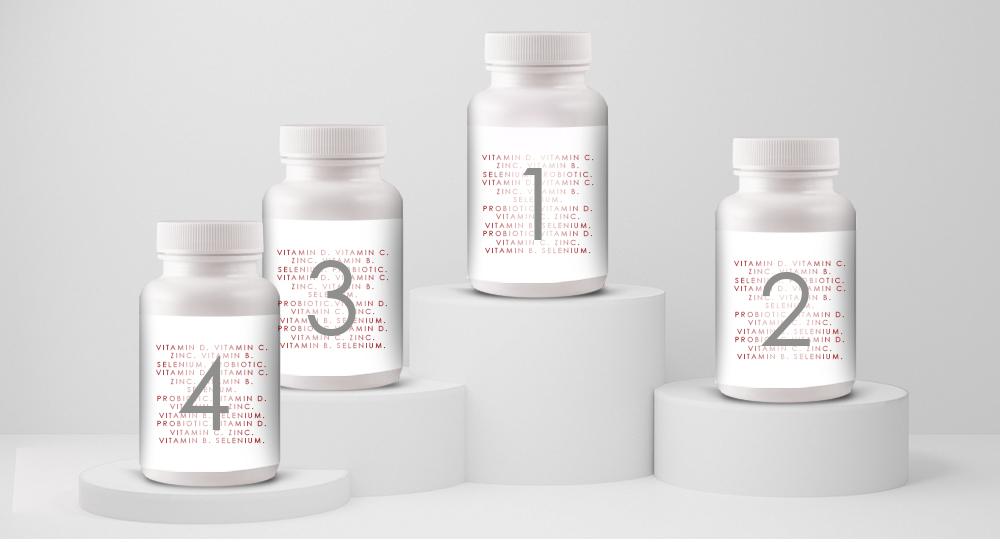 top four supplements - dr nigel plummer PRP